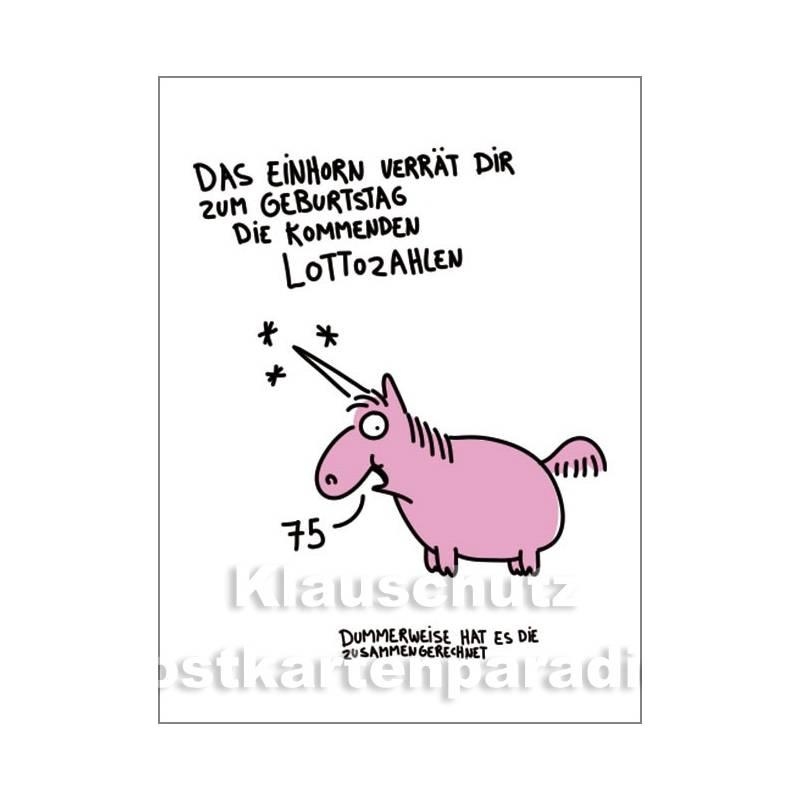 Postkartenbuch Mit 15 Einhorn Motiven Streu Glitzer Drauf