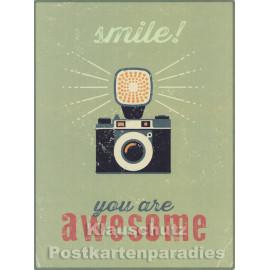 PosterCard - Elephant Unique   24 x 18 cm