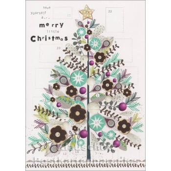 Adventskalender | Merry Christmas Weihnachtsbaum