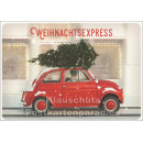 Weihnachtsexpress Postkarte