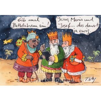 Navi Bethlehem - Gaymann Weihnachtskarte