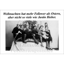 Weihnachtskarte - Follower zu Weihnachten