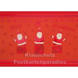 Ein glückliches Weihnachtsfest | Weihnachtskarte