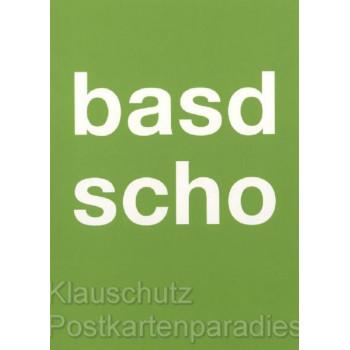 Bayern Postkarten von Cityproducts - Basd scho