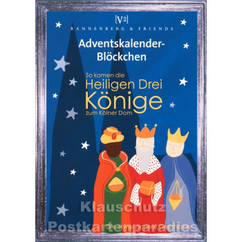 Advent Blöckchen - Könige / Dom