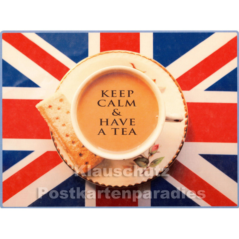 PosterCard - Keep Calm | 24 x 18 cm