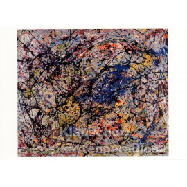 Jackson Pollock - Reflection of the Big Dipper | Kunst Postkarte
