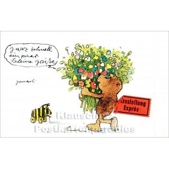 Janosch Postkarte | Kleine Grüße