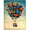 PosterCard - Butterfly Dreams | 18 x 24 cm