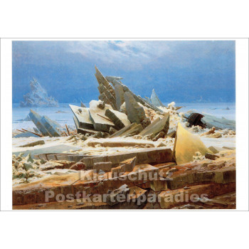 Caspar David Friedrich - Eismeer | Kunstkarte