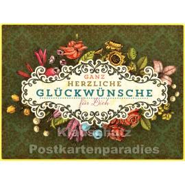 PosterCard - Glückwünsche | 24 x 18 cm