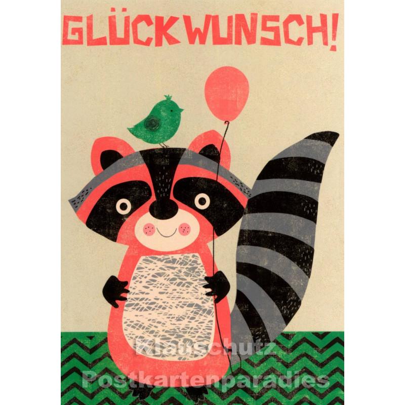 Glückwunsch | Kinder Geburtstag Postkarte