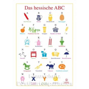 Das hessische ABC - Hessen Postkarte