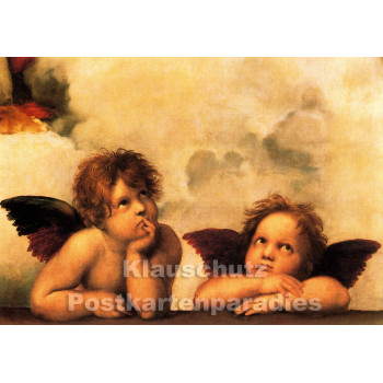 Kunstkarte | Sixtinische Madonna