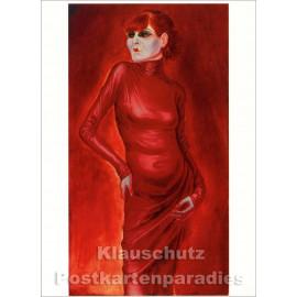 Otto Dix Kunstkarte | Tänzerin