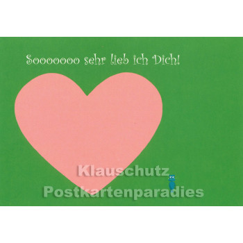 Sooooooo lieb | Postkarte