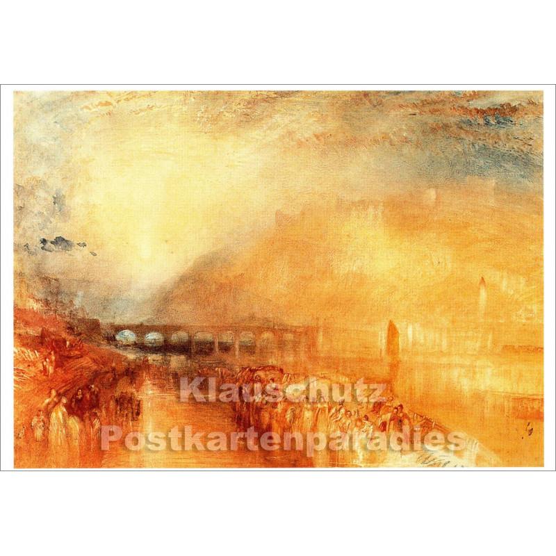 Kunstkarte | William Turner | Heidelberg