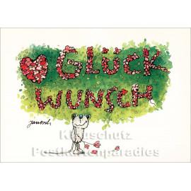 Janosch Geburtstagskarte - Glückwunsch