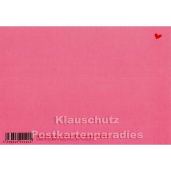 Geburtstags-Liebesgruß | Postkarte