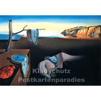 Kunstkarte | Salvador Dali | Beständigkeit