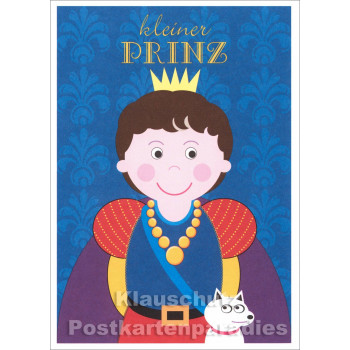 Kleiner Prinz Postkarte