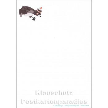 Indianer Bär Postkarte