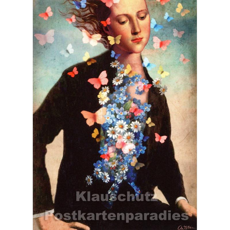 Catrin Welz-Stein Kunstkarte | Frühlingserwachen