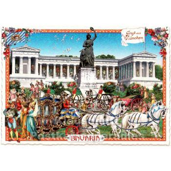 Gruß aus München - Bavaria | Nostalgie Postkarten