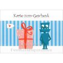Karte zum Geschenk | Geburtstagskarte