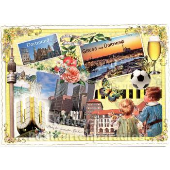 Gruß aus Dortmund | Nostalgie Postkarten
