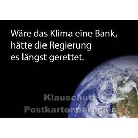 Postkarte | Das Klima