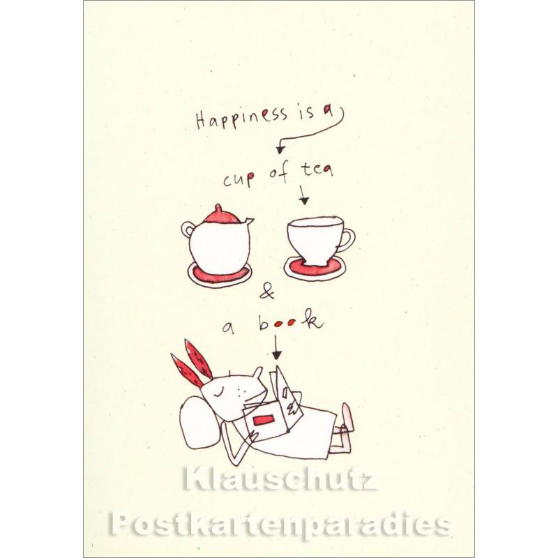 Karindrawings Postkarten | A cup of tea