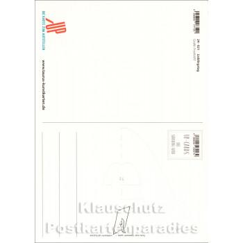 Heute ist mein Lieblingstag - Up-Cards Aufstell Postkarte von Taurus - Rückseite