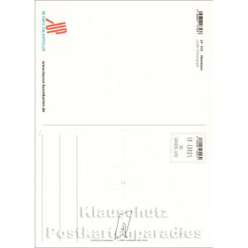 Abenteuer beginnen, wo Pläne enden - Up-Cards Aufstell Postkarte von Taurus - Rückseite