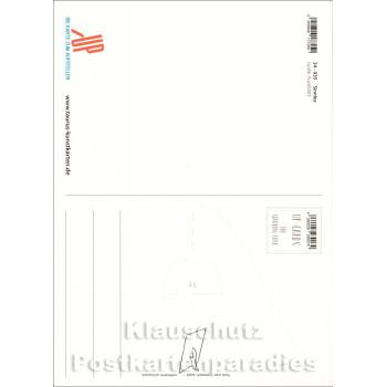 Sinnlos ist ein Leben ohne Unsinn - Up-Cards Aufstell Postkarte von Taurus - Rückseite