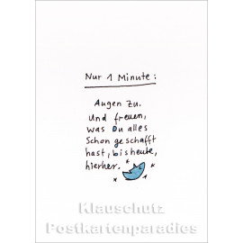 Karindrawings Postkarten | Nur 1 Minute