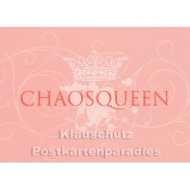 Chaos - Glitter Postkarte