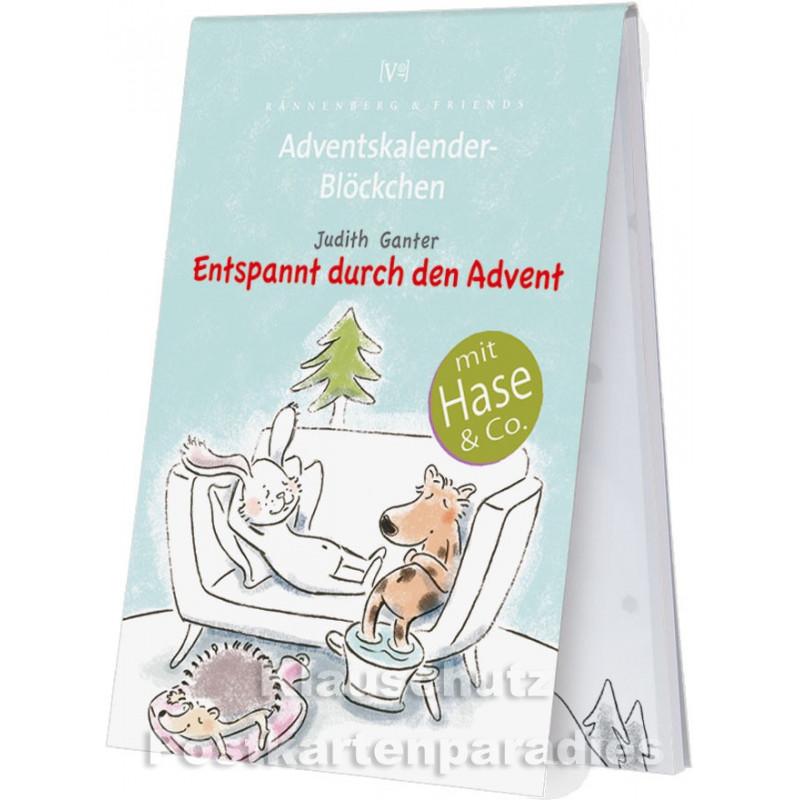 Entspannt durch den Advent - Adventskalender Blöckchen - Motiv 2