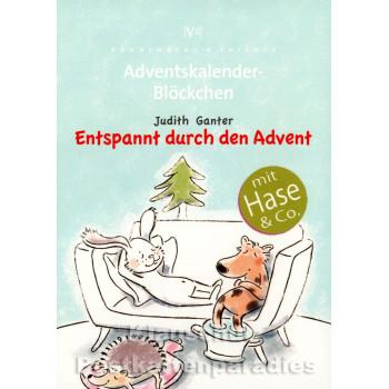 Entspannt durch den Advent - Adventskalender Blöckchen - Titel