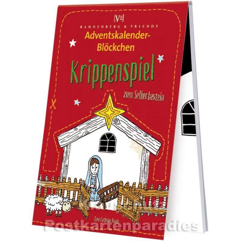 Krippenspiel - Adventskalender Blöckchen - Titel