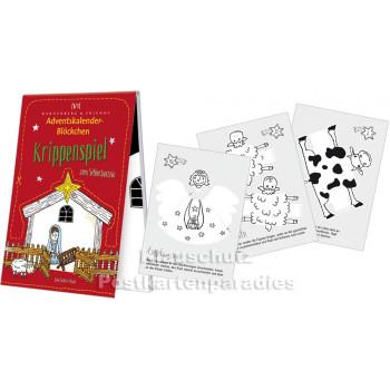 Krippenspiel - Adventskalender Blöckchen - Details
