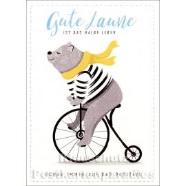Gute Laune - Up-Cards Aufstell Postkarte von Taurus
