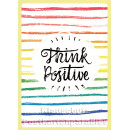 Think Positive - Up-Cards Aufstell Postkarte von Taurus