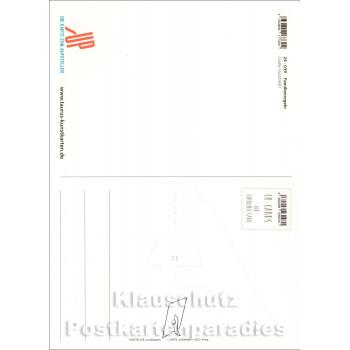 Familien-Regeln - Up-Cards Aufstell Postkarte von Taurus - Rückseite