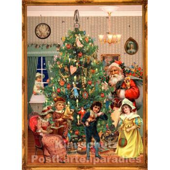 Nostalgie Adventskalender Heiligabend
