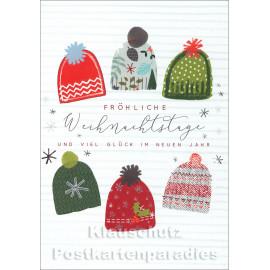 Taurus Doppelkarte Weihnachten | Fröhliche Weihnachtstage
