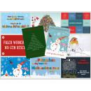 Weihnachtskarten Sparset mit 10 Postkarten Weihnachten