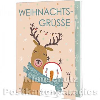 Postkartenbuch Weihnachten von Rannenberg | Weihnachtsgrüße - mit 15 Karten