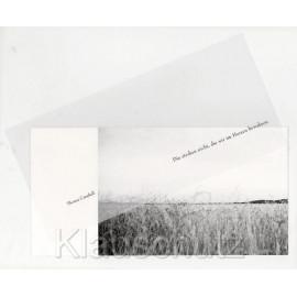 Trauer Postkarten - Die sterben nicht, die wir im Herzen bewahren