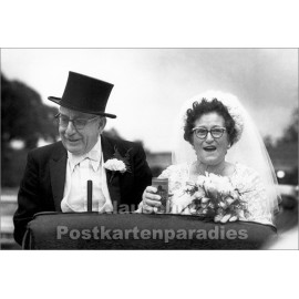 Lustige SkoKo Foto Klappkarte zur Hochzeit